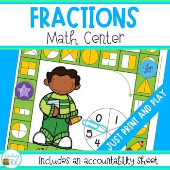Fractions Math Center