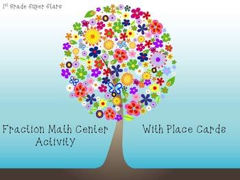 Fractions - Math Center Activity