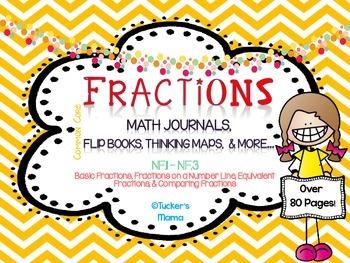Fractions Math Journals