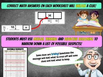 5th Grade Fractions Review Converting Improper Fractions, Multiplying Fractions+