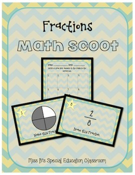 Fractions Math Scoot