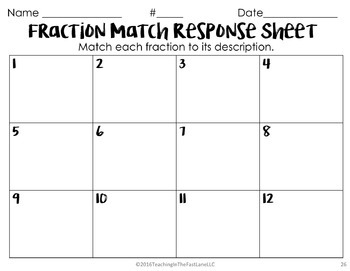 Fractional Parts Math Stations