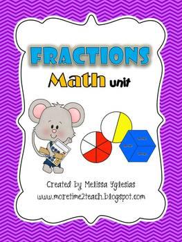 Fractions Math Unit