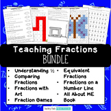 Mega Fractions Bundle - Fraction Unit to Build Understanding - Activities, Games