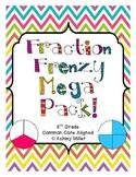Fractions Mega Pack for CCSS 3.NF.1 - 3.NF.3