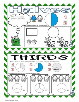 Fractions Mini-Book