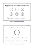 Fractions Mini Book