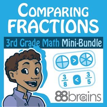 Fractions Mini-Bundle: Comparing Fractions (CCSS)