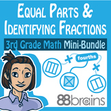 Fractions Mini-Bundle: Equal Parts & Identifying Fractions