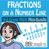 Fractions Mini-Bundle: Fractions on a Number Line (CCSS)