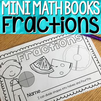 Fractions { Mini Math Book }