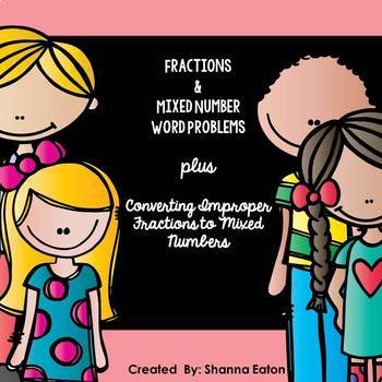 Fractions & Mixed Number Word Problems