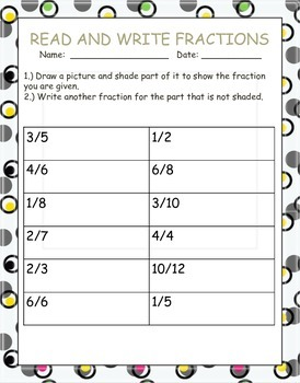 Fractions, Mixed Numbers, and Decimals Packet