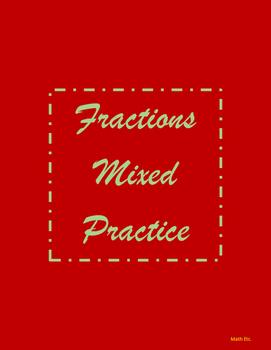 Fractions Mixed Practice