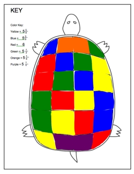 Fractions / Mixed numbers addition math practice worksheets Set of 2