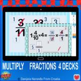 Fractions Multiplication Bundle Boom Cards