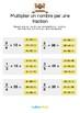 Fractions - Multiplier un nombre par une fraction -CM1-6e