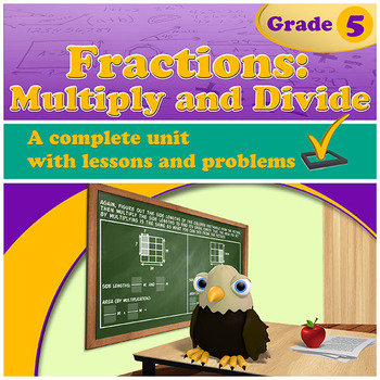Fractions: Multiply and Divide