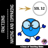 Fractions: Naming and Comparing with Models - VA SOL 3.2