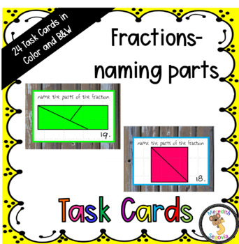 Fractions: Naming the Parts of Fractions
