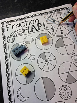 Fractions No Prep Games, Activities and Worksheets