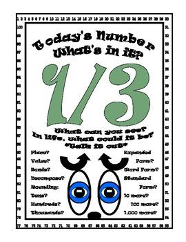 Fractions Number Sense