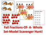 Fractions-Of-A-Whole Fall Set-Model Scavenger Hunt