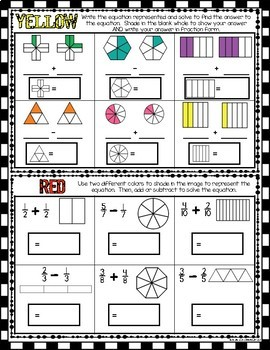 Fractions Operations Game