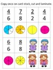 Back to School Parts of a Whole Fractions Math Center Games