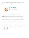 Fractions Packet (4 operations, vocabulary, examples, prac