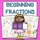 Fraction Printables- Beginning Fractions