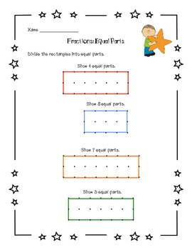 Fractions Part I Common Core Math Assessments