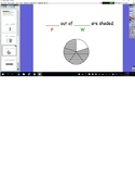 Fractions Part out of Whole Flipchart