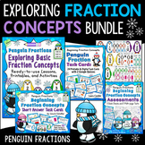 Exploring Basic Fraction Concepts Bundle (Penguin Fractions)