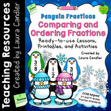 Comparing Fractions Games, Lessons, and Activities (Pengui