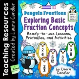 Fraction Lessons, Printables, and Activities (Basic Pengui