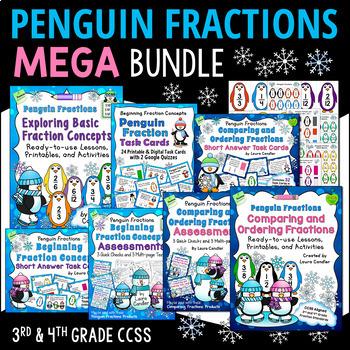 Fractions Mega Bundle (Penguin Fractions)