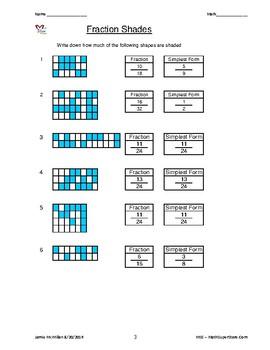 Fractions, Percentages & Decimals