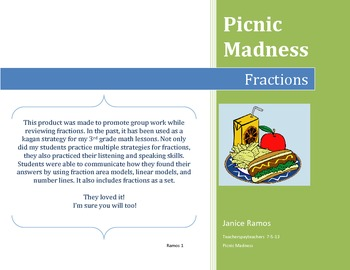Fractions - Picnic Madness