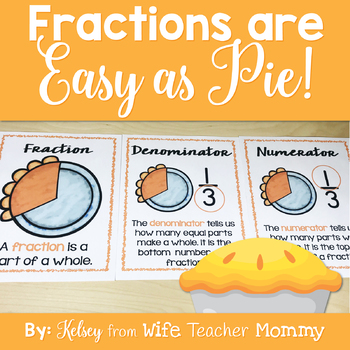 Pi Day Fractions Worksheets By Wife Teacher Mommy Tpt