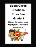 Fractions-Pizza Fun for Grade 3-Boom Cards