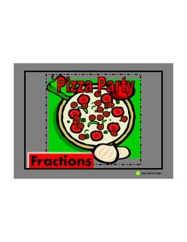 Fractions Pizza Party for Autism