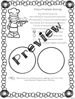 Fractions Pizza Problem-Solving