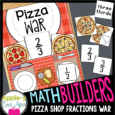 Comparing Fractions Pizza War Game Center Math Builders Game