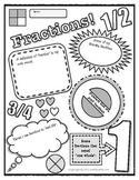 Fractions Poster!  A Fun Way To Encourage Conceptual Understanding