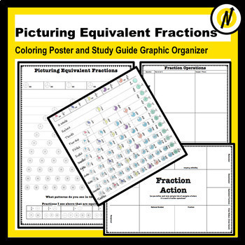 Fractions Poster and Study Guide