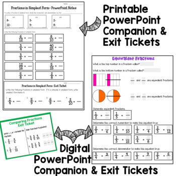 4th Grade Fractions PowerPoint 1 (based on 4th Grade CCSS)