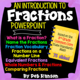 3rd Grade Fractions PowerPoint (based on the third grade CCSS)