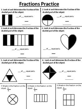Fractions Practice