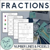 Fractions on a Number Line and More Practice!